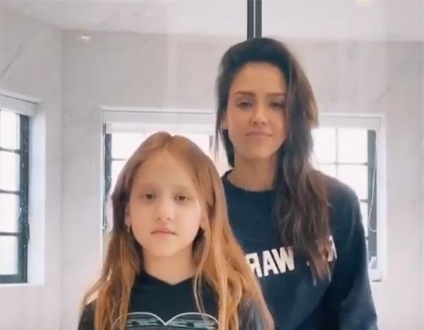 Jessica Alba and Mini-Me Daughter Haven's TikTok Dance Video Will Make You Smile