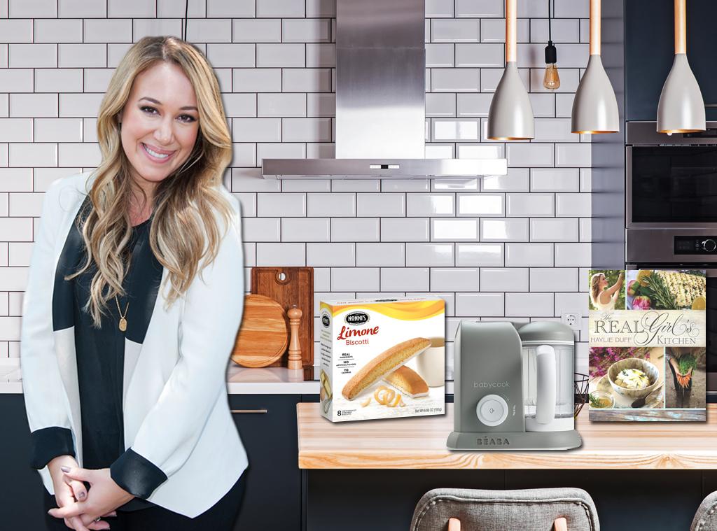 ECOMM: Haylie Duff Kitchen Collage