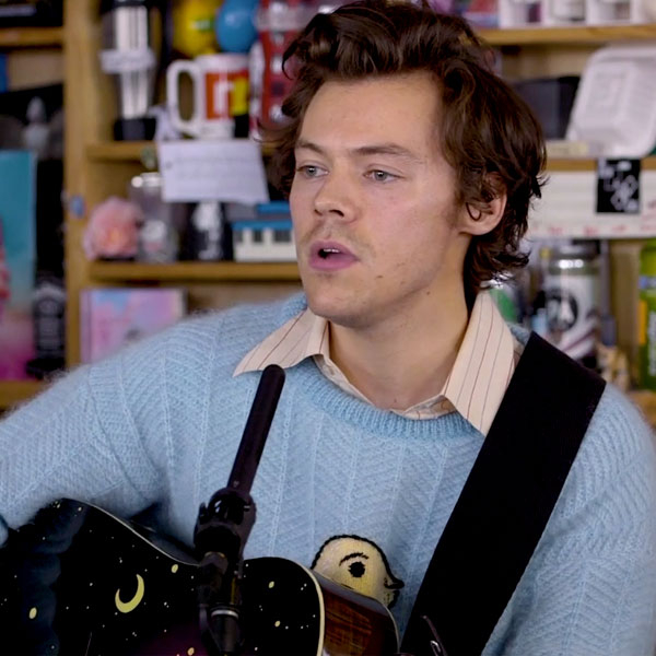 Harry Styles Breaks Down His Hits During Tiny Desk Performance