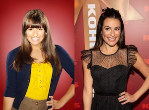 Glee Stars, Then and Now, Lea Michele