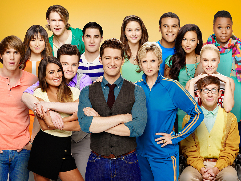 Glee Stars, Then and Now