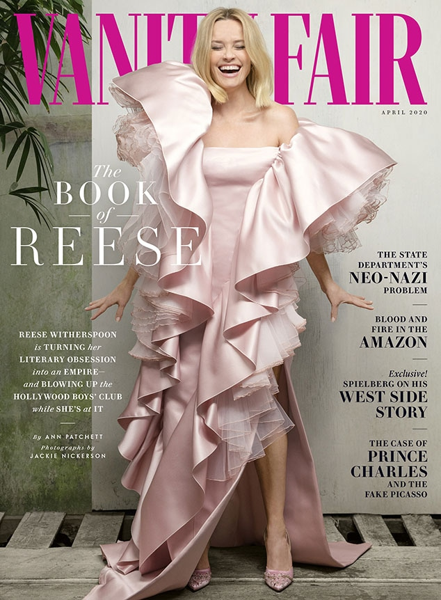 Reese Witherspoon, Vanity Fair, April 2020 Issue