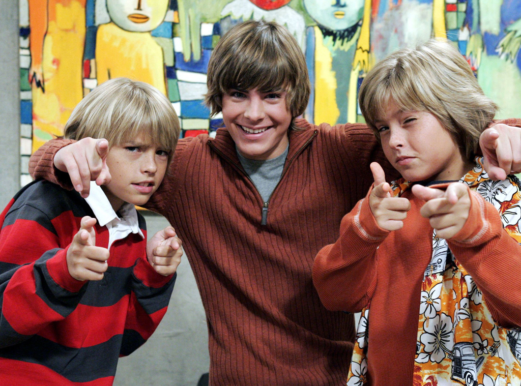 Cole Sprouse, Dylan Sprouse, Zac Efron, The Suite Life Of Zack and Cody