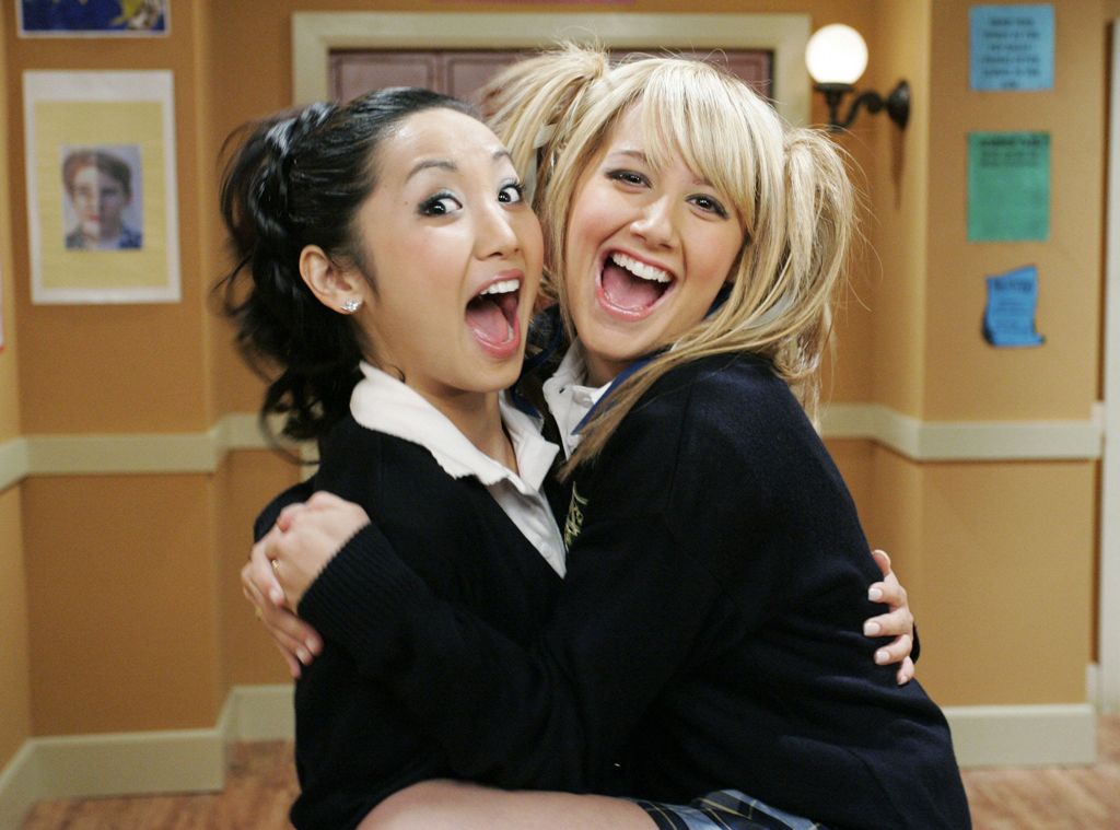 Brenda Song, Ashley Tisdale, The Suite Life Of Zack and Cody