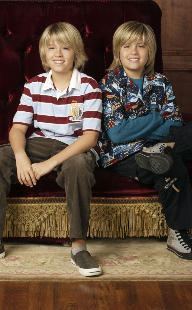 Cole Sprouse, Dylan Sprouse, The Suite Life Of Zack and Cody