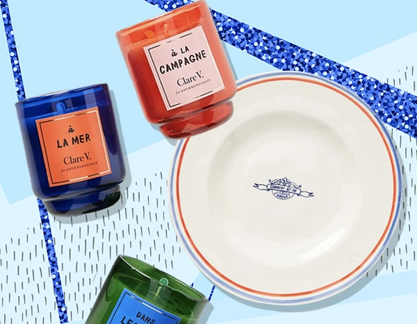 Stuck at Home? Clare V. for Anthropologie Brings the French Riviera to You