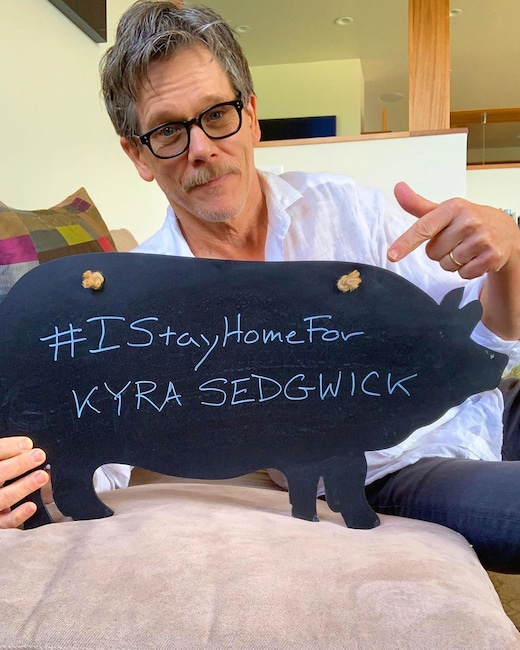 Kevin Bacon, Défi #IStayHomeFor