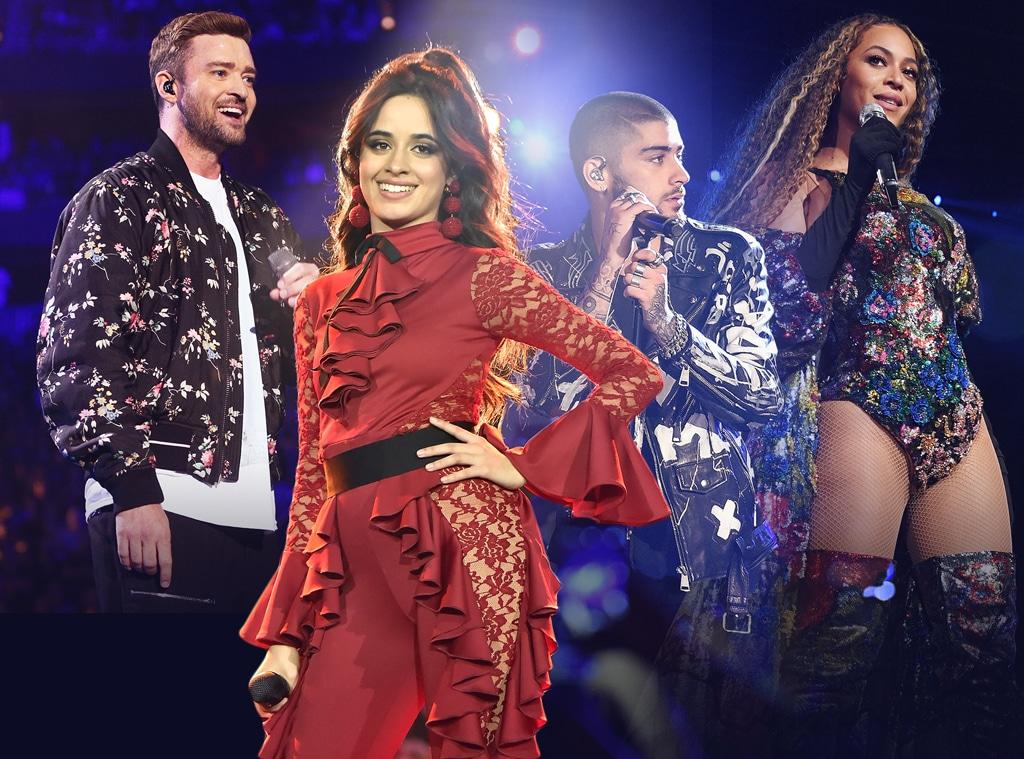 Solo Boy Band Girl Group, Camila Cabello, Justin Timberlake, Beyonce, Zayn Malik