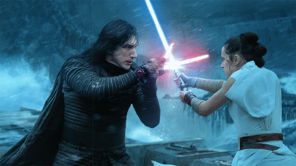 Adam Driver, Daisy Ridley, Star Wars: The Rise of Skywalker
