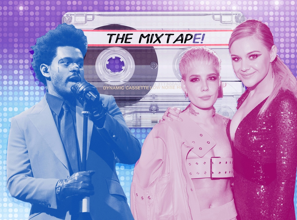 The MixtapE!, The Weeknd, Kelsea Ballerini, Halsey