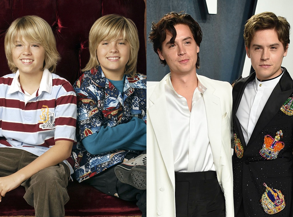 Cole and Dylan Sprouse, The Suite Life of Zack and Cody ... |Cole And Dylan Sprouse Then And Now