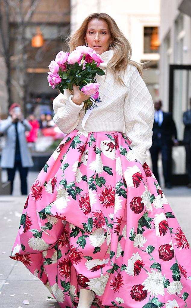 Celine Dion, Florals