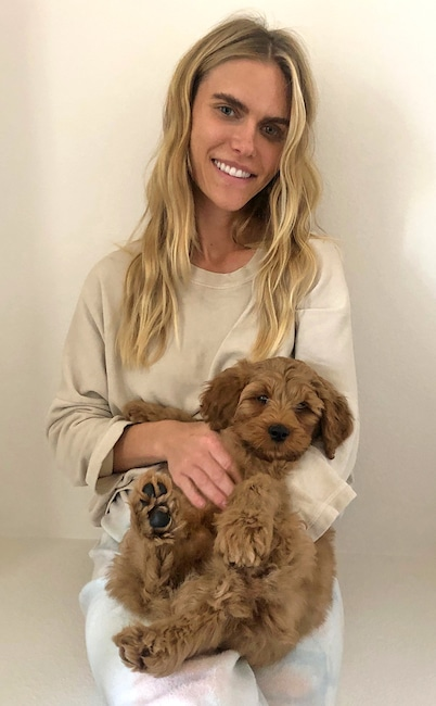 Jason Kennedy, Lauren Scruggs, dog, Bennett, National Puppy Day 2020