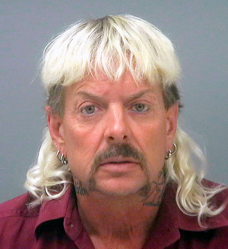 Joseph Maldonado, Joe Exotic, Mug Shot
