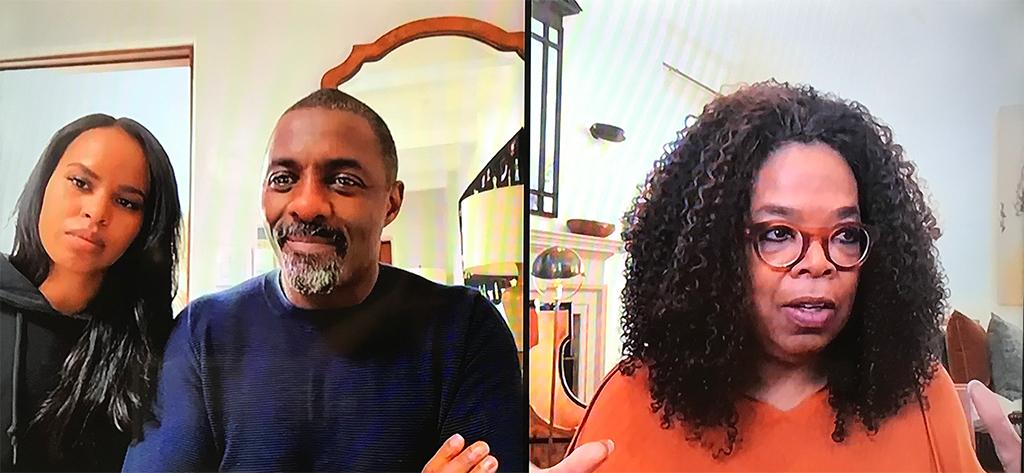 Idris Elba, Sabrina Dhowre, Oprah Winfrey, Apple TV+