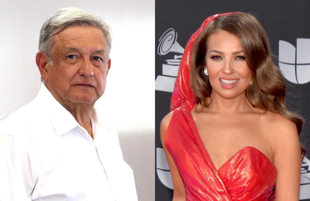 Lopez Obrador, Thalia