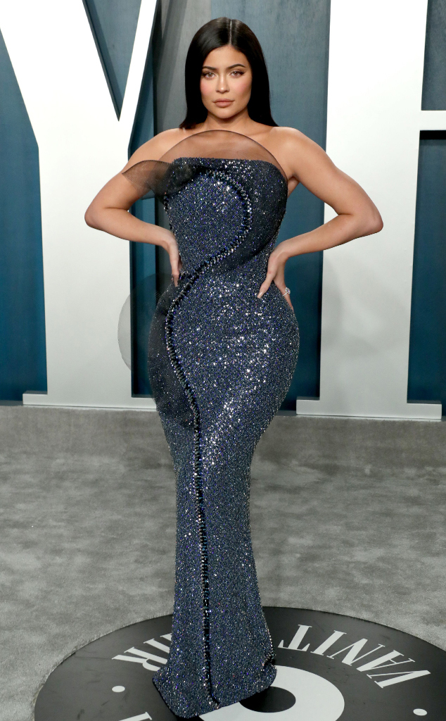 Kylie Jenner, 2020 Vanity Fair Oscar Party, Kardashian Widget, 2020
