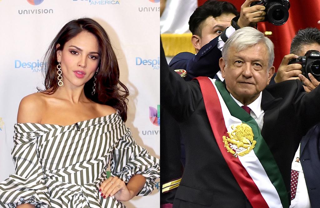 Eiza Gonzalez, Andres Manuel Lopez Obrador