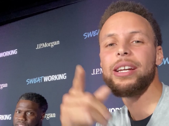 Watch Kevin Hart Attempt to Teach Stephen Curry How to Vlog
