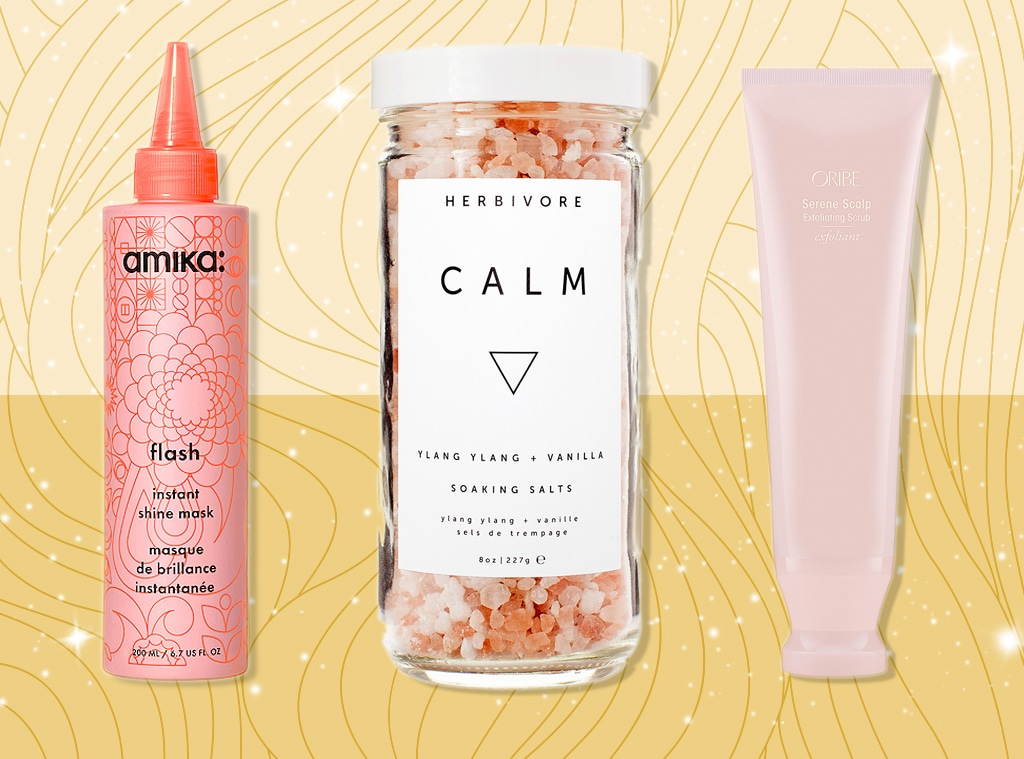 E-COMM: Revolves Beauty Must-Haves for At-Home Self-Care Collage