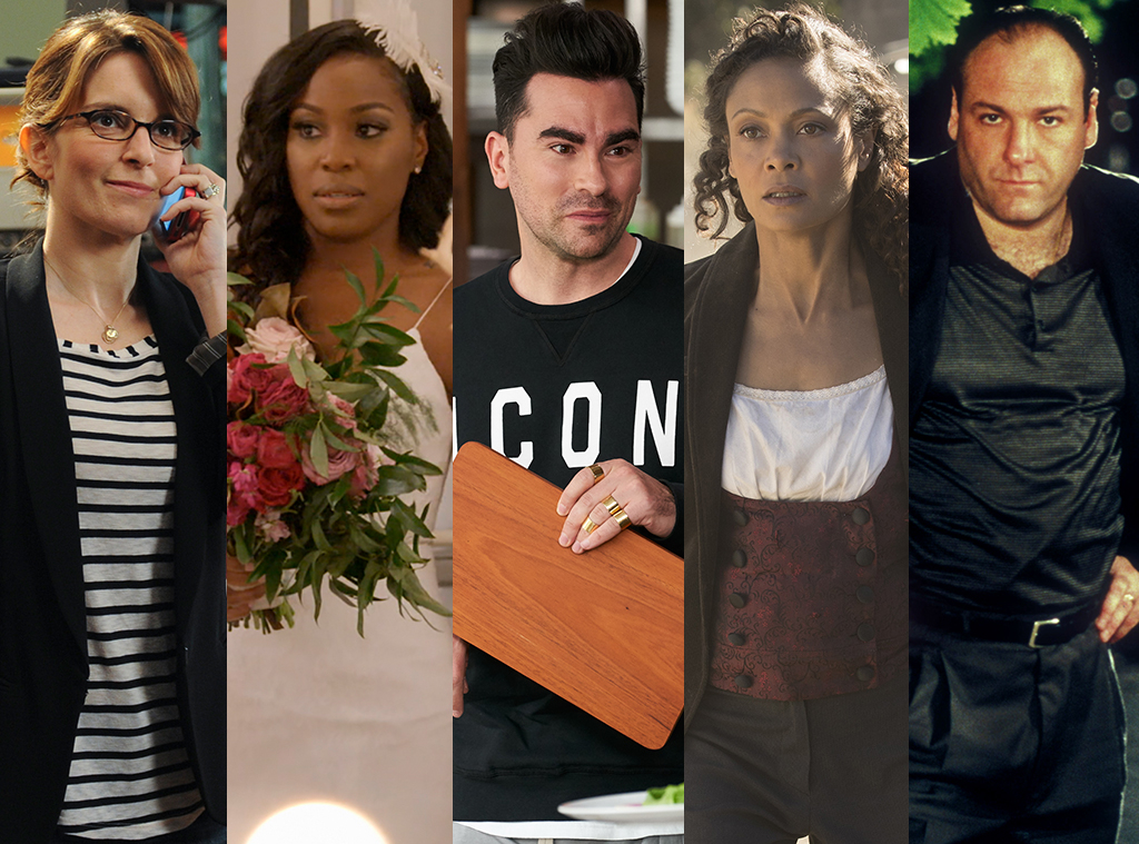 What We're Watching, Tina Fey, Lauren Speed, Dan Levy, Thandie Newton, James Gandolfini