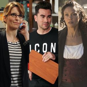 What We're Watching, Tina Fey, Dan Levy, Thandie Newton