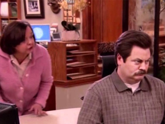 <i>Parks and Recreation</i>'s Ron Swanson Would Be Handling the Coronavirus Best and We Have the Proof