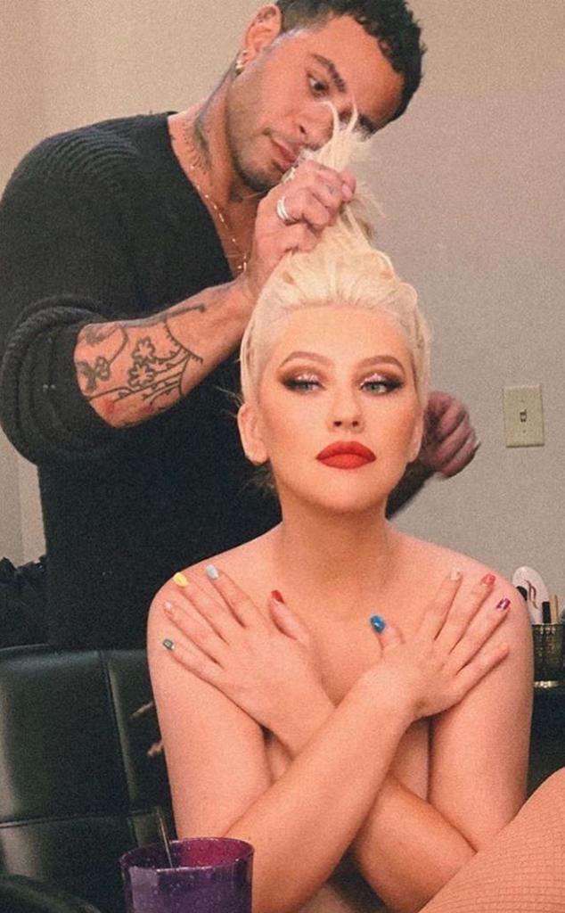 Christina Aguilera, Cesar DeLeon Ramirez