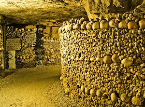 Virtual Tours, Paris Catacombs