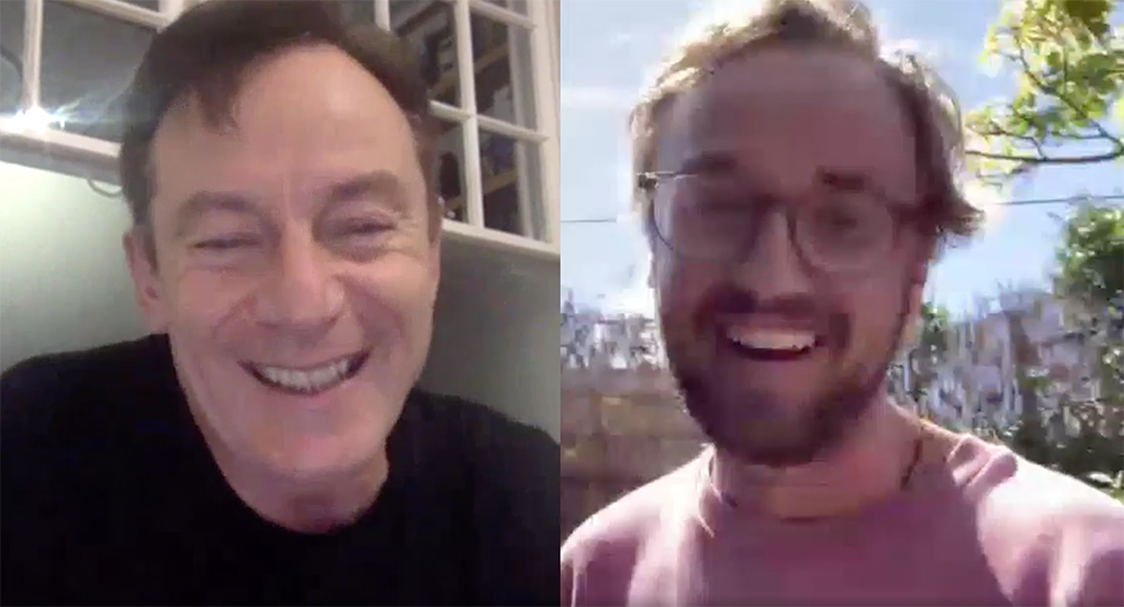 Jason Isaacs, Tom Felton, Harry Potter, Reunion, Skype, Instagram