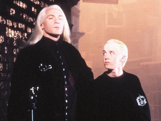 <i>Harry Potter</i>'s Tom Felton and Jason Isaacs Have a Malfoy Family Reunion