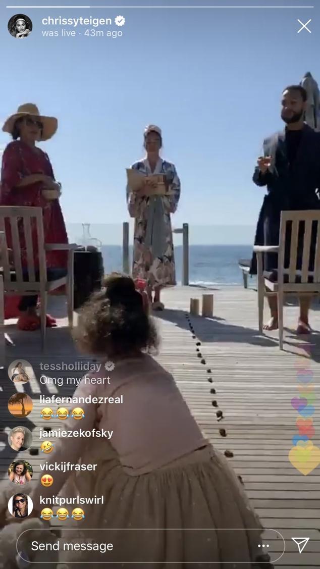 Chrissy Teigen Instagram Stories