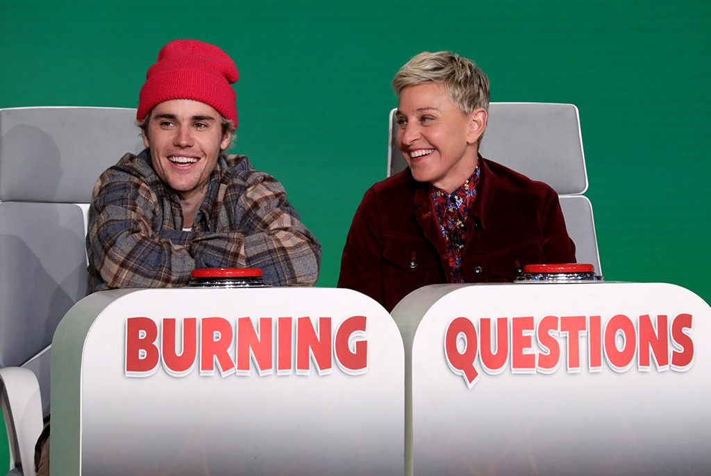 Justin Bieber, Ellen DeGeneres