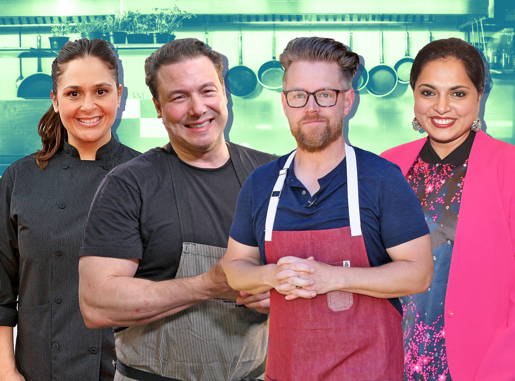 Tournament of Champions Chefs, Richard Blais, Antonia Lofaso, Maneet Chauhan, Rocco DiSpirito