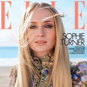 Sophie Turner, ELLE April 2020
