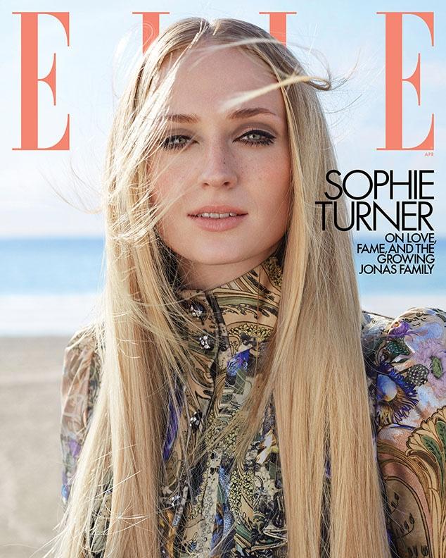 Sophie Turner, ELLE April 2020