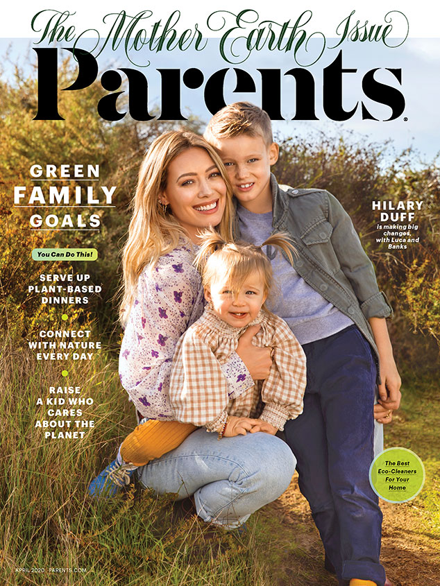Hilary Duff, Parents, April 2020 Issue