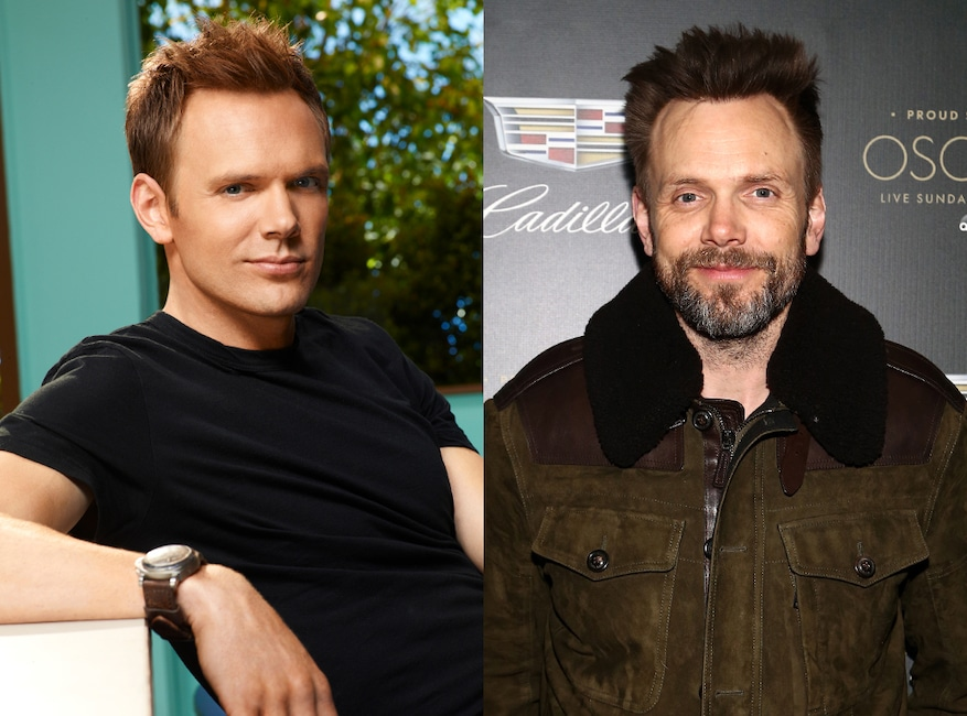Community then and now, Joel McHale