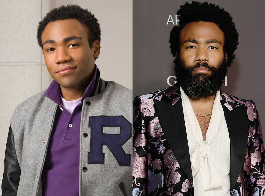 Community then and now, Donald Glover
