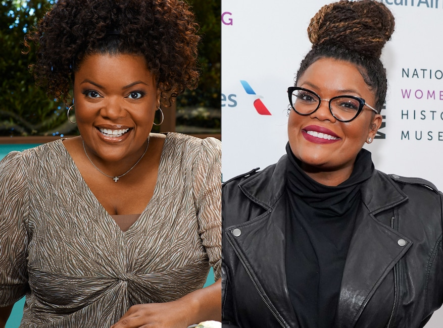 Community then and now, Yvette Nicole Brown