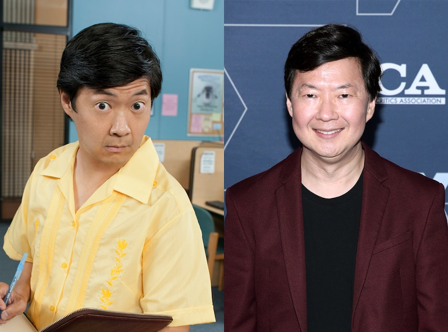 Community then and now, Ken Jeong