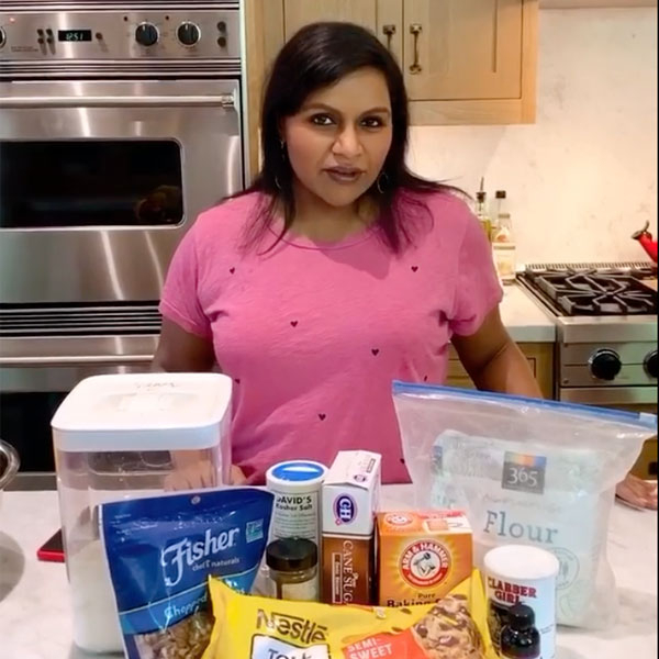 """Mindy Kaling's """"Cakey Cookies"""" Baking Video Will Have You Drooling"""