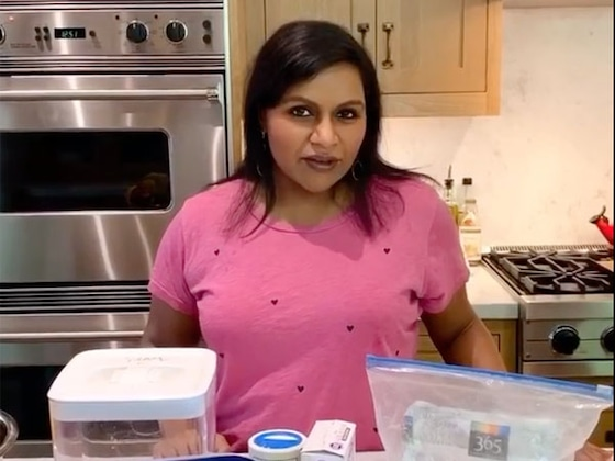 "Mindy Kaling's ""Cakey Cookies"" Baking Video Will Have You Drooling"