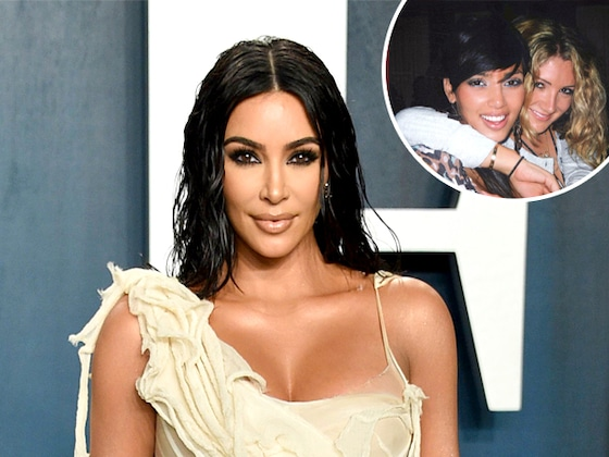 Kim Kardashian Is Questioning Her Hair and Makeup Choices in Throwback College Photo