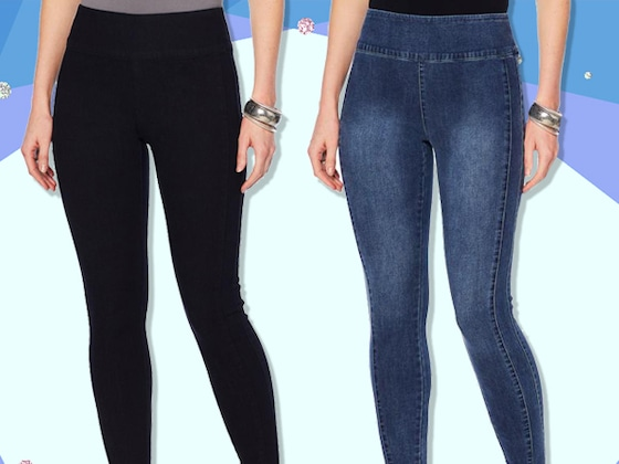 Why Women Everywhere Love G by Giuliana Denim Leggings