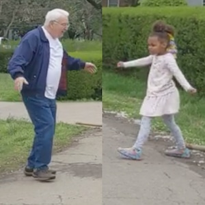 Grandfather Granddaughter Duo Dance Off