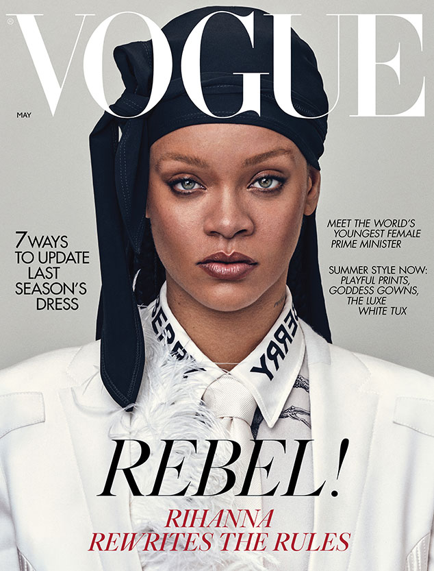 Rihanna, British Vogue, May 2020