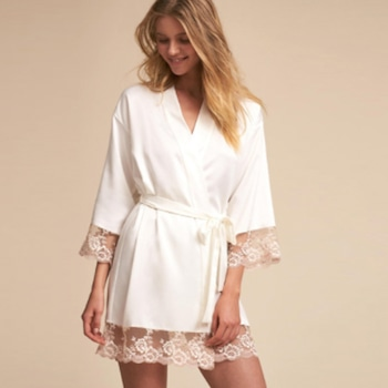 Robe, BHLDN Ivory Lace Rosa Kimono