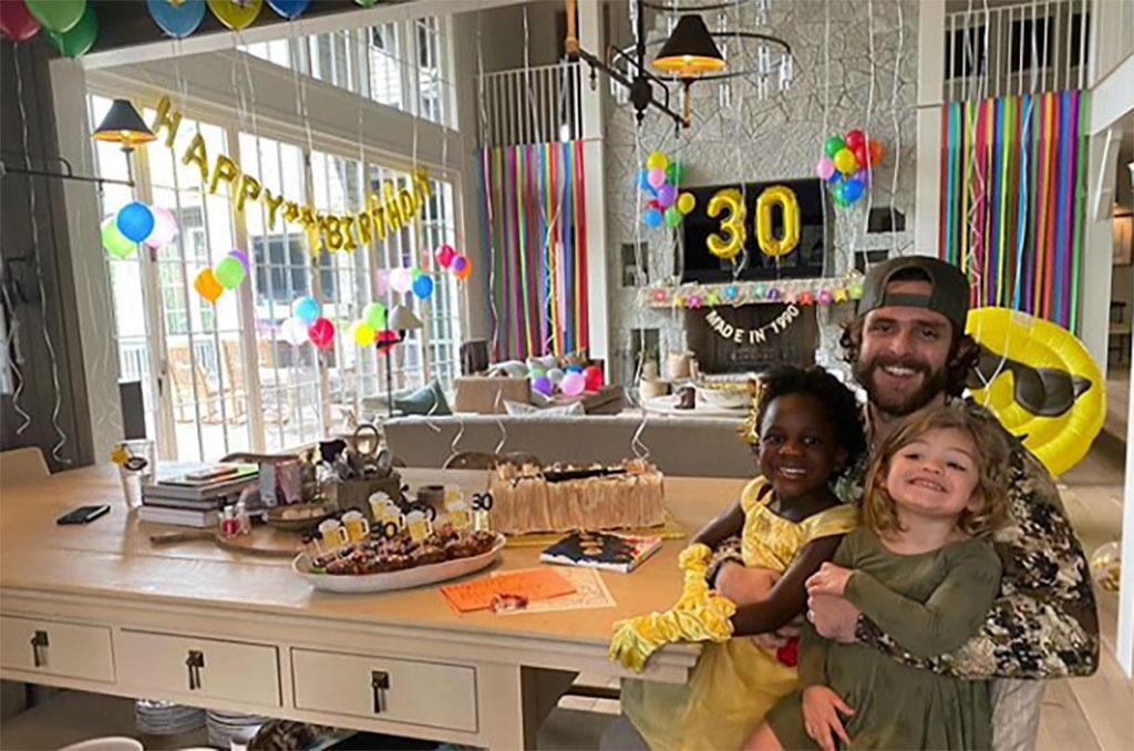 Thomas Rhett, 30th Birthday