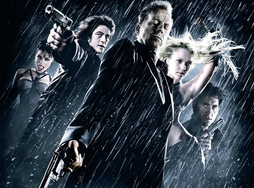 Sin City cast then/ now